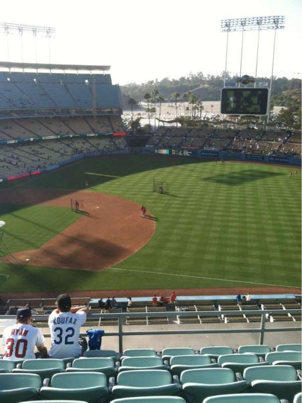 Dodger Stadium, section: Reserve, row: F, seat: 8