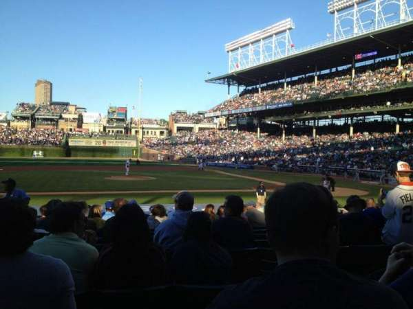 Wrigley Field, section: 115, row: 3, seat: 109