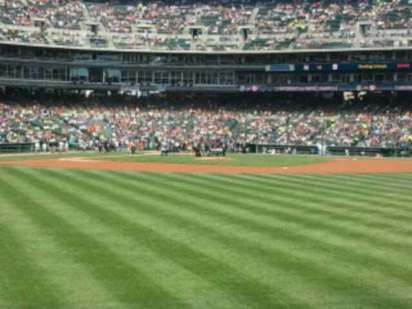 Comerica Park, section: 102, row: F, seat: 8