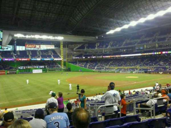 Marlins Park, section: 24, row: 9, seat: 5