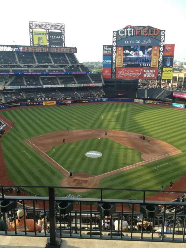 Citi Field, section: 513, row: 3, seat: 17