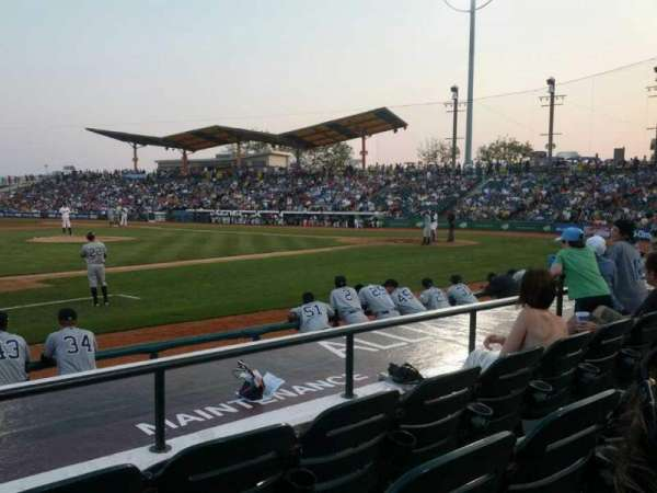 MCU Park, section: 13, row: H, seat: 10