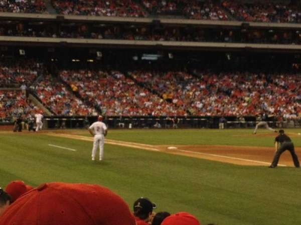 Citizens Bank Park, section: 111, row: 7, seat: 5