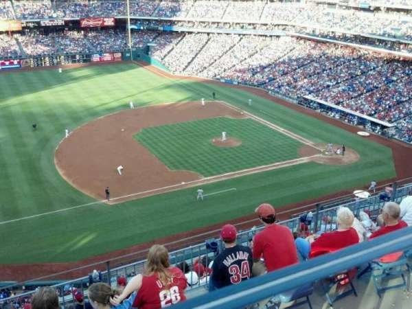 Citizens Bank Park, section: 428, row: I , seat: 17