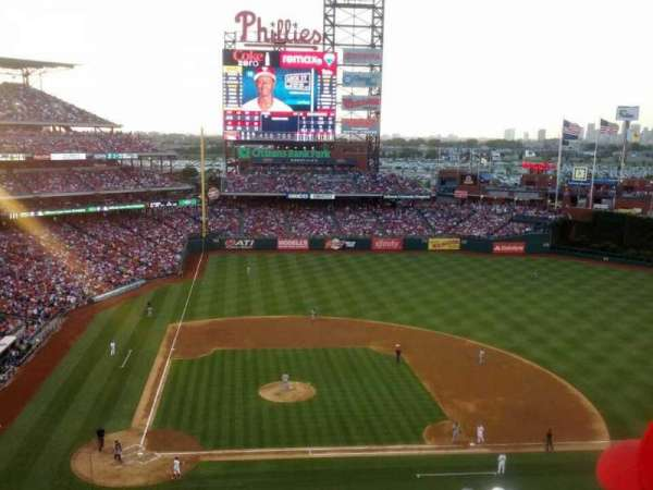 Citizens Bank Park, section: 316, row: 7, seat: 19