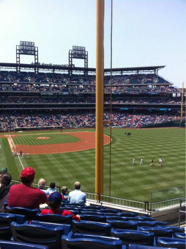 Citizens Bank Park, section: 206, row: 8, seat: 4