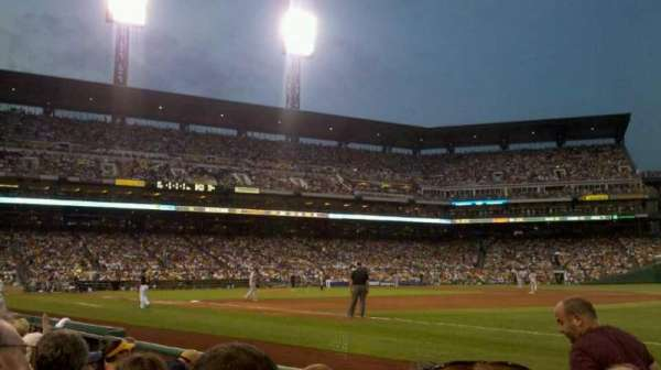 PNC Park, section: 5, row: E, seat: 5