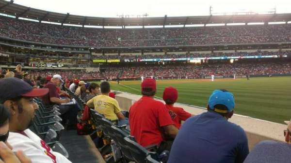 Angel Stadium, section: 131, row: B, seat: 13