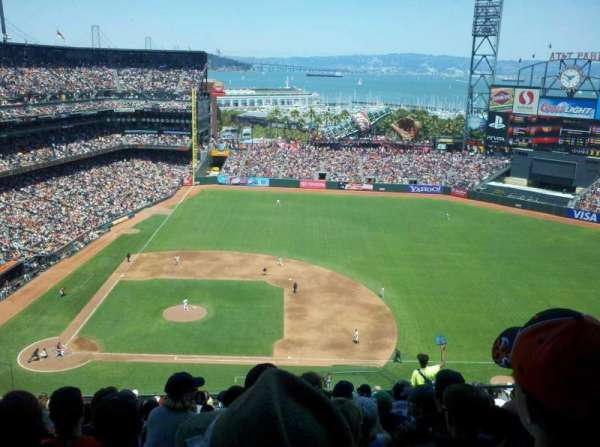 AT&T Park, section: 308, row: 16, seat: 6