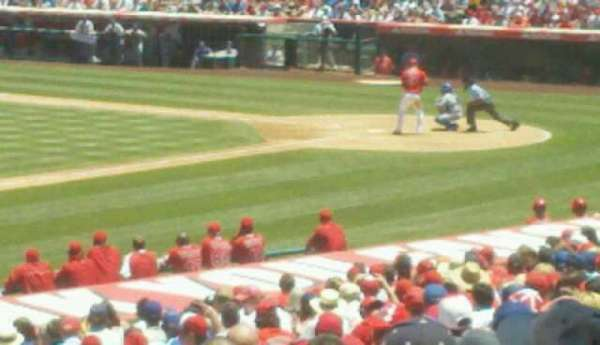 Angel Stadium, section: T209, row: A, seat: 15