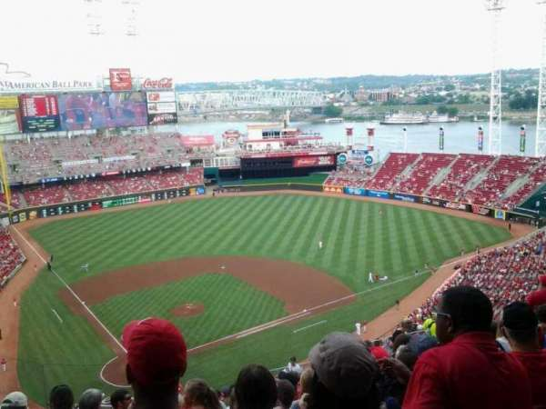 Great American Ball Park, section: 526, row: P, seat: 14