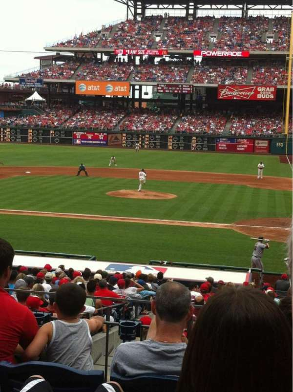 Citizens Bank Park, section: 128, row: 25, seat: 3