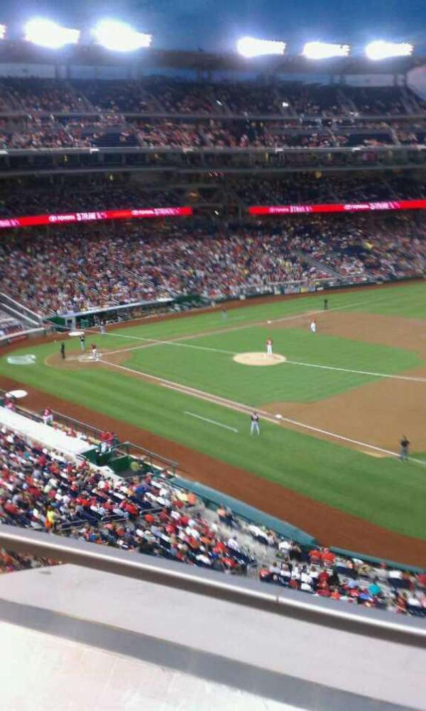 Nationals Park, section: 222, row: A, seat: 5