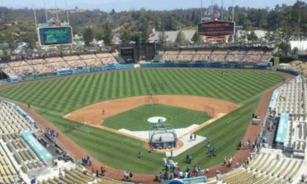 Dodger Stadium, section: 3TD, row: U, seat: 1