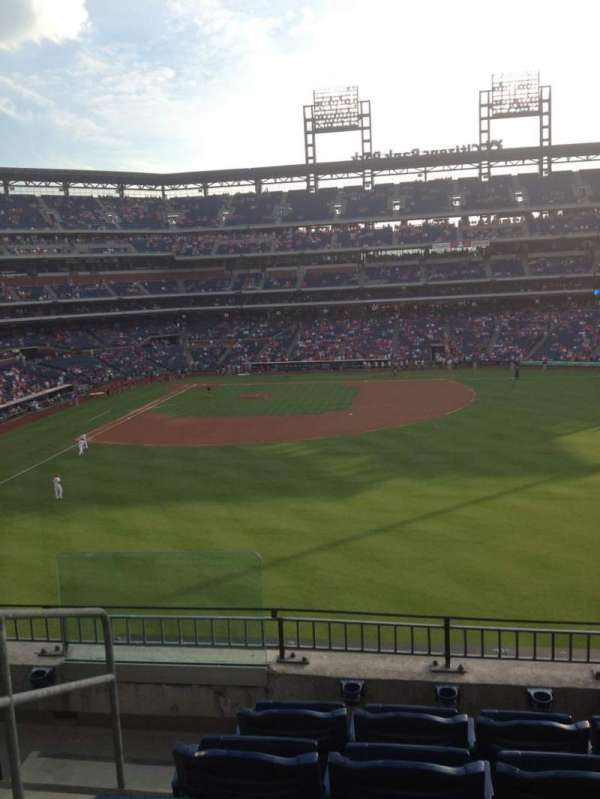 Citizens Bank Park, section: 202, row: 5, seat: 23