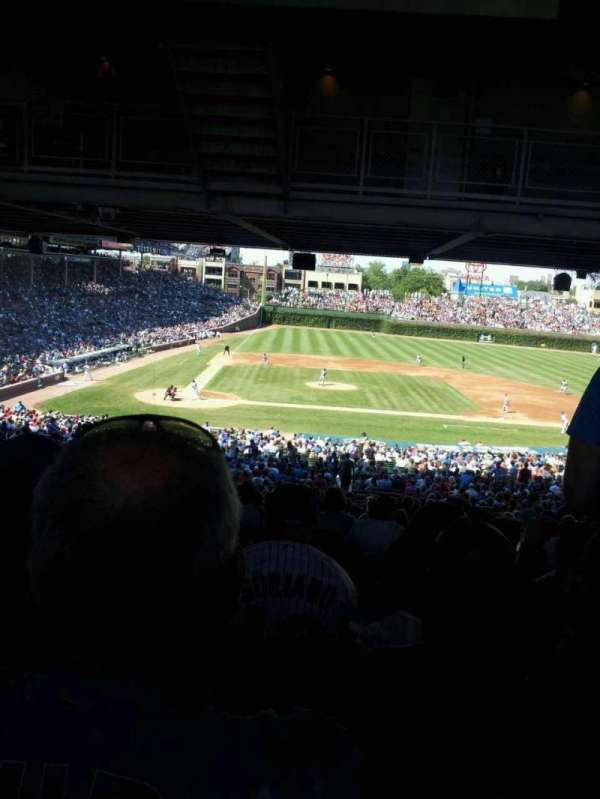 Wrigley Field, section: 228, row: 21, seat: 110