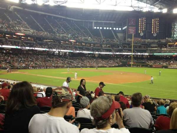 Chase Field, section: 113, row: 25, seat: 12