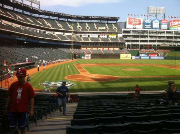 Globe Life Park in Arlington, section: 30, row: 16, seat: 1-4