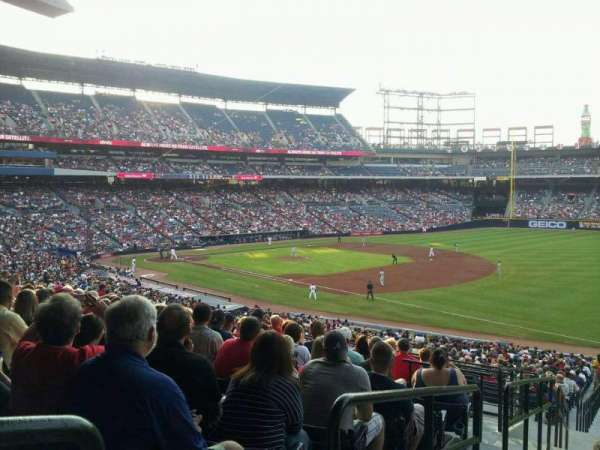 Turner Field, section: 221, row: 11, seat: 1