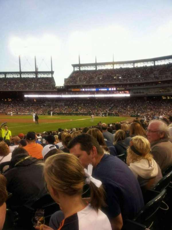 Comerica Park, section: 139, row: 14, seat: 16