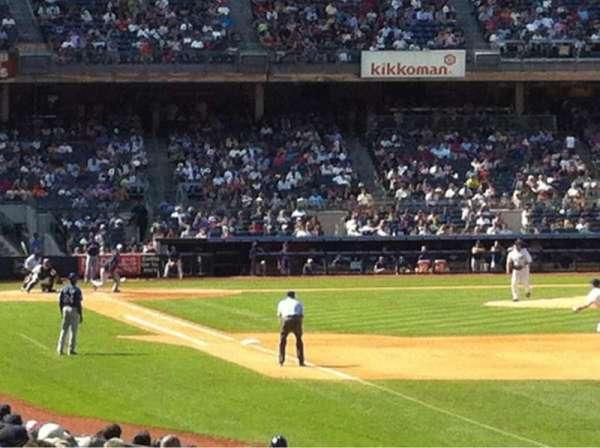 Yankee Stadium, section: 109, row: 18, seat: 9