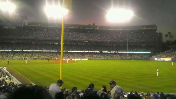 Dodger Stadium, section: 50FD, row: v, seat: 9