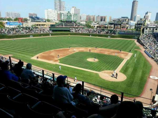 Wrigley Field, section: 314L, row: 5, seat: 16