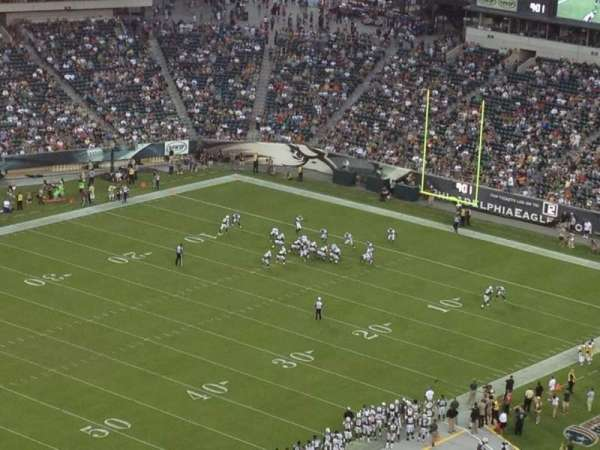 Lincoln Financial Field, section: 220, row: 23, seat: 19