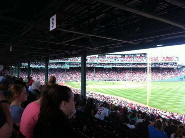 Fenway Park, section: Grandstand 5, row: 13, seat: 27