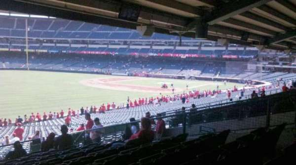 Angel Stadium, section: T205, row: K, seat: 14