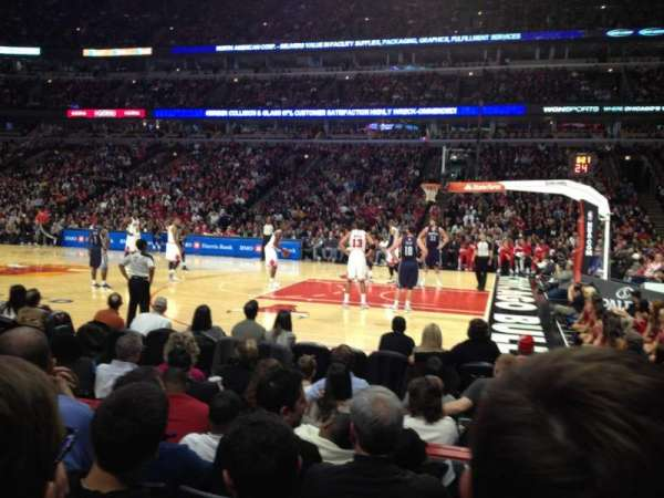 United Center, section: 110, row: 5, seat: 13