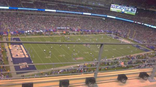 MetLife Stadium, section: 318, row: 2, seat: 14