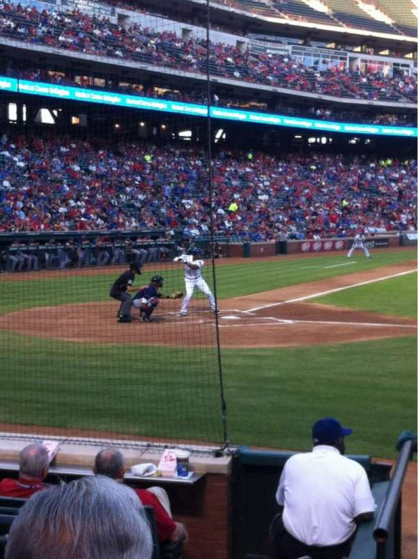 Globe Life Park in Arlington, section: 31, row: 6, seat: 2