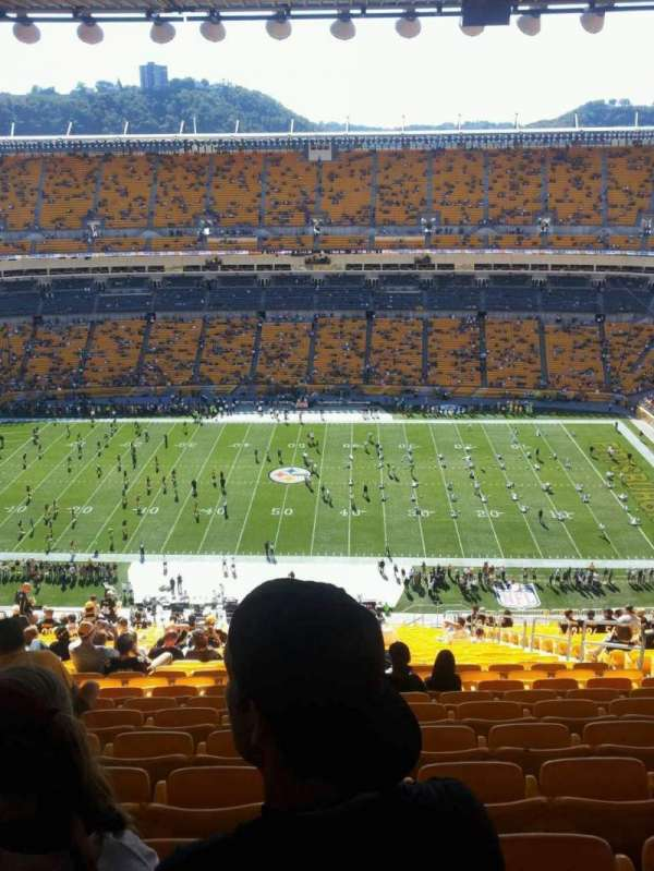 Heinz Field, section: 511, row: HH, seat: 5