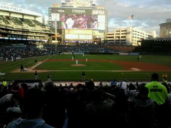 Comerica Park, section: 123, row: 31, seat: 4