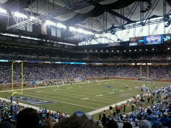 Ford Field, section: 141, row: 36, seat: 25