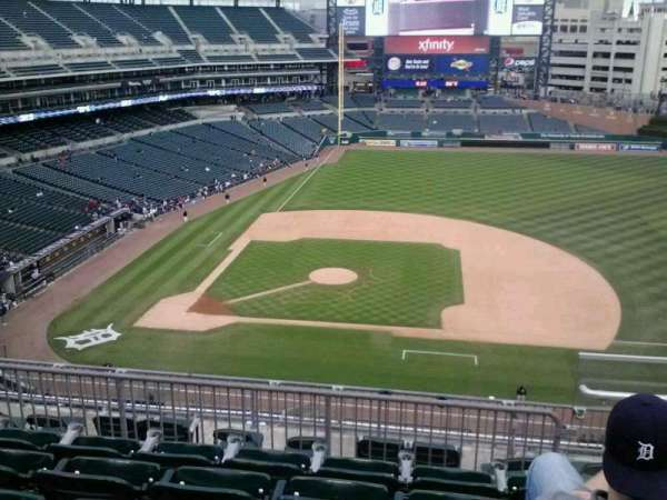 Comerica Park, section: 322, row: 5, seat: 6