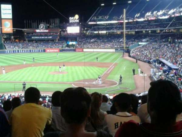 Turner Field, section: 206, row: 7, seat: 11