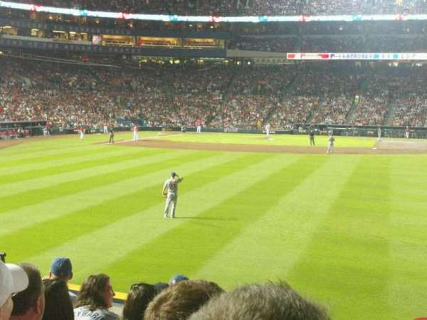 Turner Field, section: 137R, row: 18, seat: 12