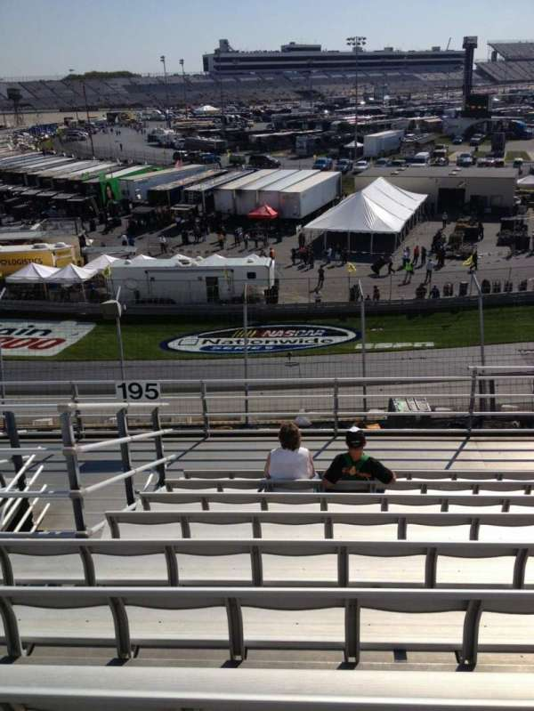 Dover International Speedway, section: 195, row: 9, seat: 6