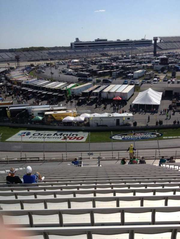 Dover International Speedway, section: 196, row: 23, seat: 9