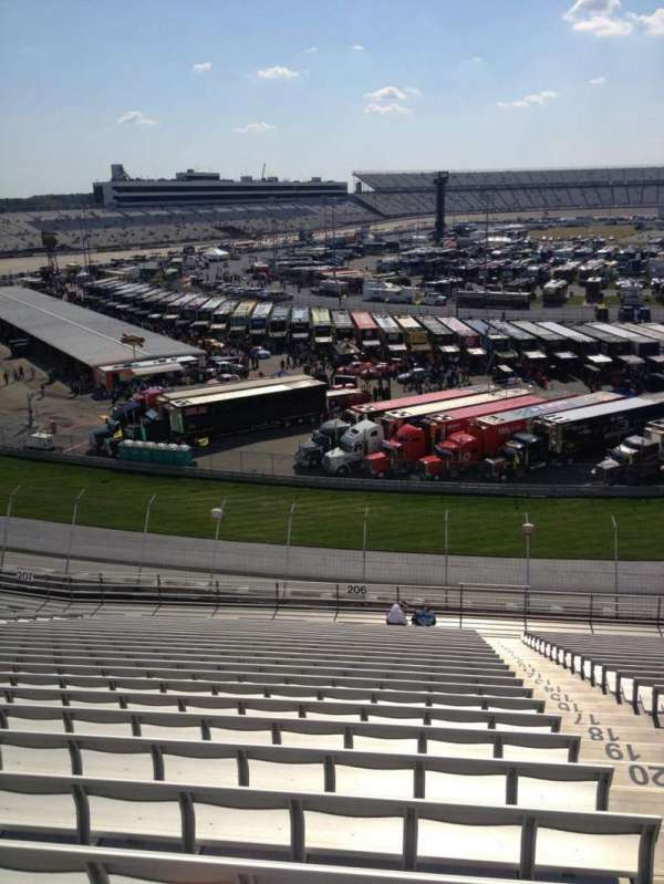 Dover International Speedway, section: 206, row: 26, seat: 2