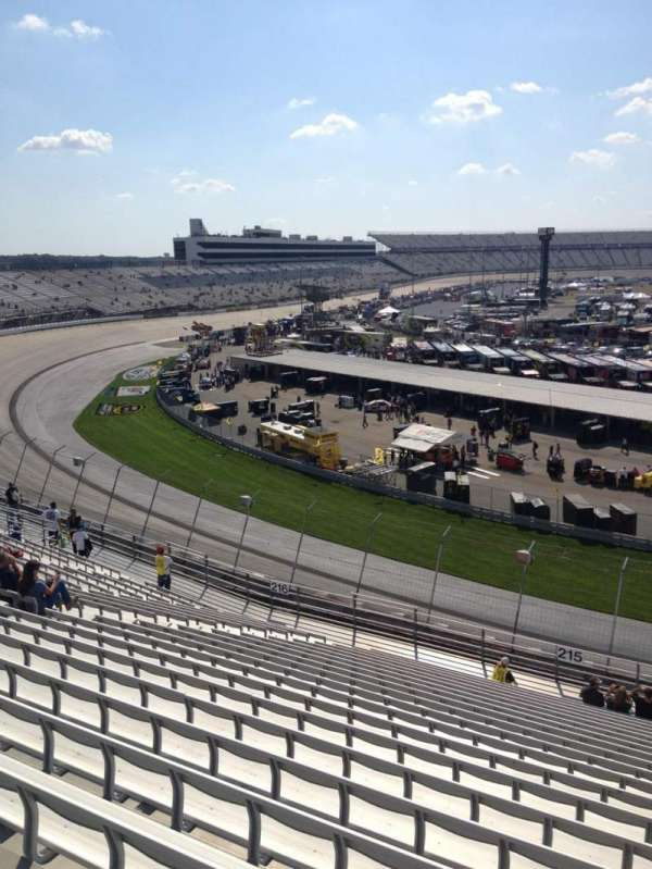 Dover International Speedway, section: 215, row: 21, seat: 3