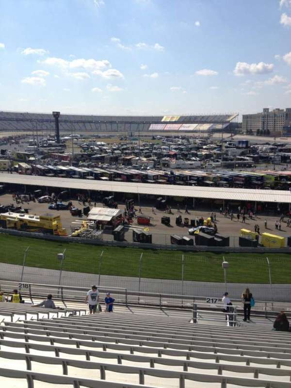 Dover International Speedway, section: 217, row: 21, seat: 12