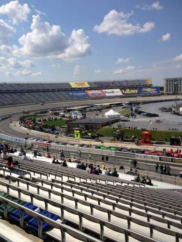 Dover International Speedway, section: 107, row: 45, seat: 8
