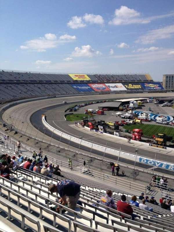 Dover International Speedway, section: 115, row: 25, seat: 5