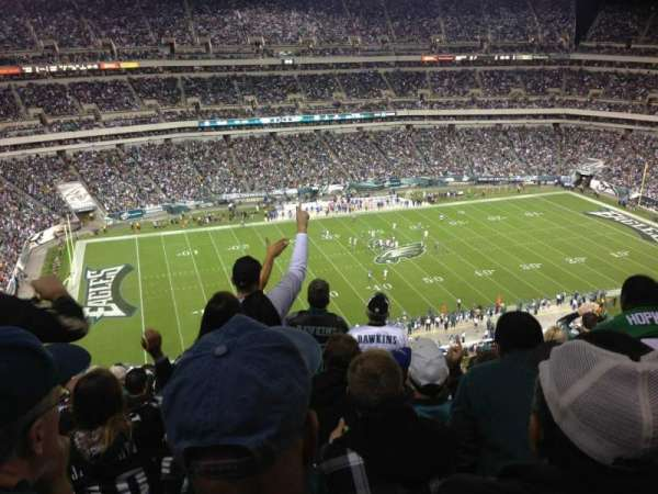 Lincoln Financial Field, section: 242, row: 14, seat: 15