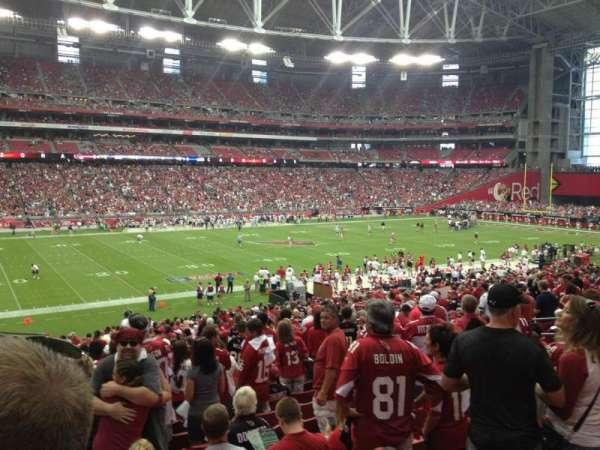 State Farm Stadium, section: 113, row: 23, seat: 10