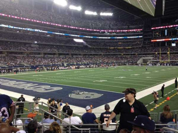 AT&T Stadium, section: 120, row: 8, seat: 1