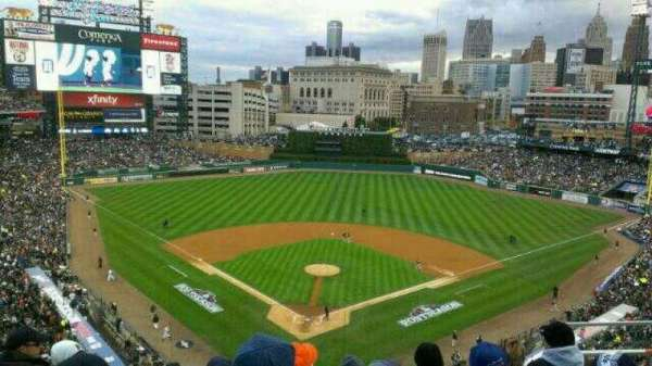 Comerica Park, section: 327, row: 5, seat: 9